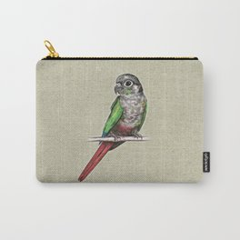 Green-cheeked conure Carry-All Pouch