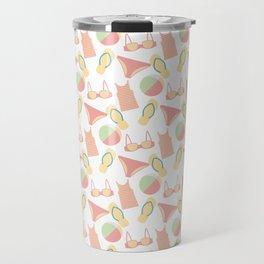 Pattern with swimsuits Travel Mug