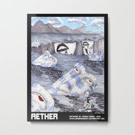 AETHER Metal Print