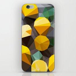 lemonade abstract geometrical art iPhone Skin