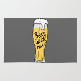 Beer with me Rug