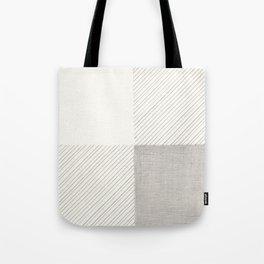 Buffalo Check Pencil Drawing Tote Bag