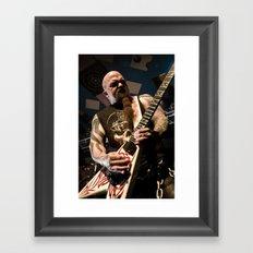 Kerry King of Slayer Framed Art Print