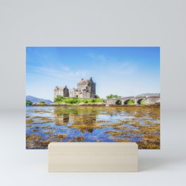 Eilean Donan in Summer Mini Art Print