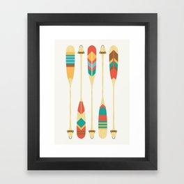 Summer Lake Framed Art Print