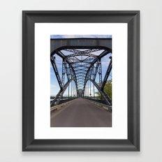 Iron Bridge Framed Art Print