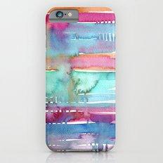 Water Stripes Slim Case iPhone 6s