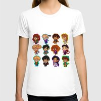 percy jackson T-shirts featuring Chibis of Olympus by chubunu