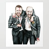 breaking bad Art Prints featuring Breaking Bad by 13 Styx