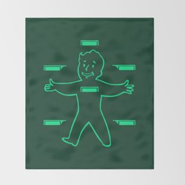 HealthyBoy 3000 Throw Blanket