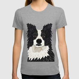 Beautiful Border Collie T-shirt