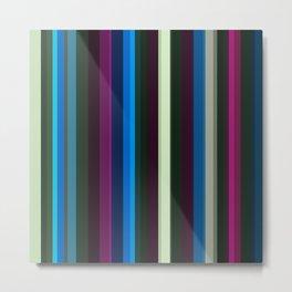 Vertical stripes Metal Print