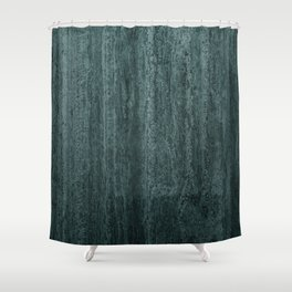 Black gray green abstract modern marble Shower Curtain