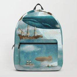Ocean Meets Sky - revised Backpack
