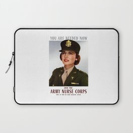 You Are Needed Now -- Join The Army Nurse Corps Laptop Sleeve