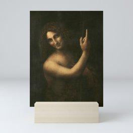 Leonardo da Vinci - Saint John the Baptist Mini Art Print