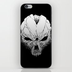 Skull. Just skull.  iPhone & iPod Skin