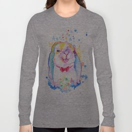 Rainbow Bunny Long Sleeve T-shirt