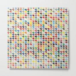 Hirstooth Pattern Metal Print