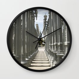 Urban Lights Wall Clock