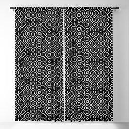 Amazonian Shipibo Pattern Blackout Curtain