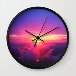 Twilight #society6 #home #tech Wall Clock