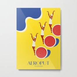 "EX-JU poster ""AEROPUT"" Metal Print"