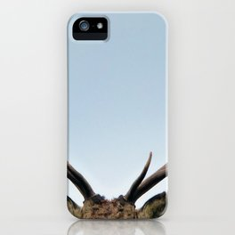Stag antlers iPhone Case