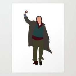 Criminal The Breakfast Club 80s movie Art Print