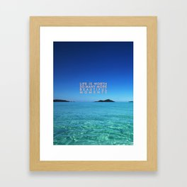 Beautiful Moments Framed Art Print