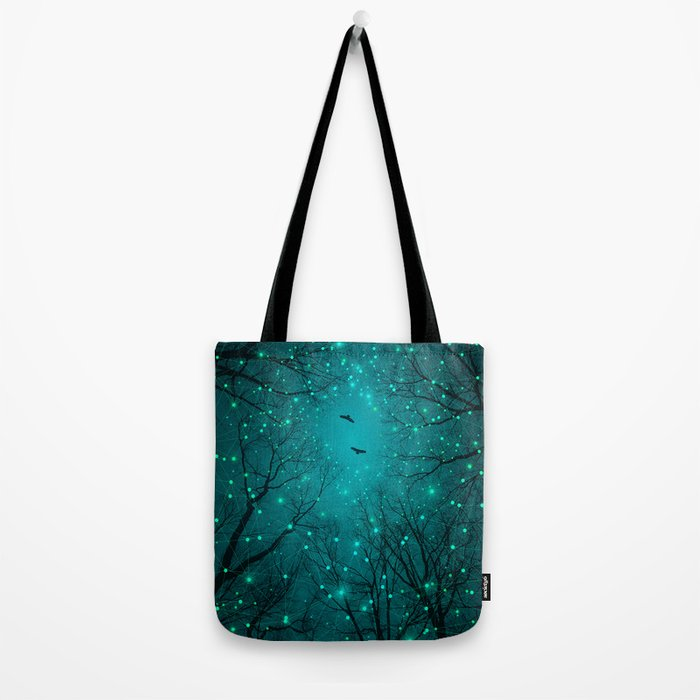 One by One, the Infinite Stars Blossomed Tote Bag