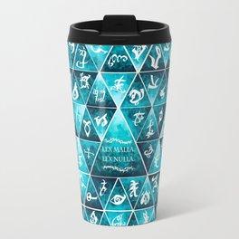 Blackthorn Family Motto Mosaic Travel Mug