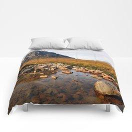 Buchaille Etive Mor Mountan Glencoe Scotland Comforters
