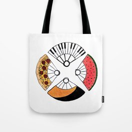 4 fire fans for any case Tote Bag