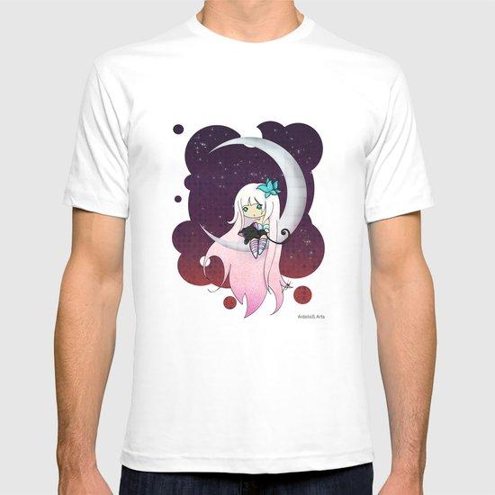 Silver Butterfly moon T-shirt
