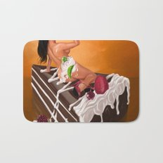 Sexy Cake Bath Mat