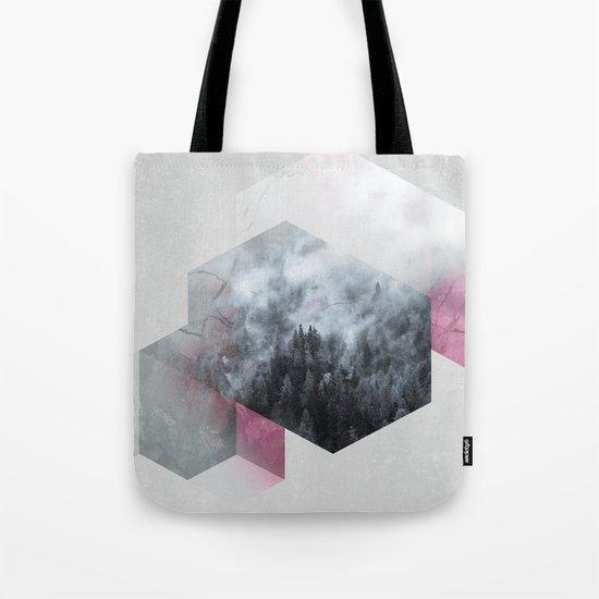 Exagonal Winter Tote Bag