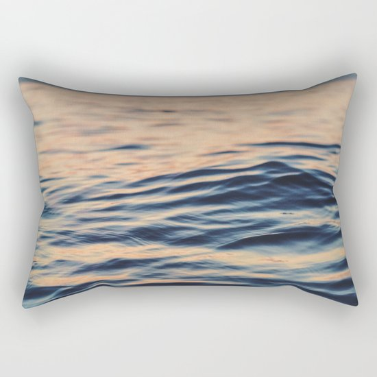 Calm Ocean Rectangular Pillow