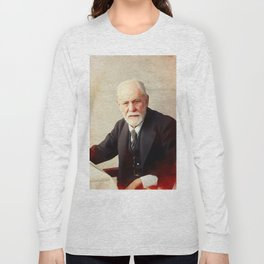 Sigmund Freud Long Sleeve T-shirt