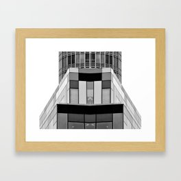 Architectural Horizon Framed Art Print
