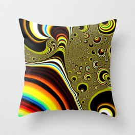 Strangeness in the Universe Throw Pillow