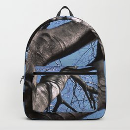 maple tree in winter Backpack