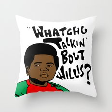 Diff'rent Strokes Throw Pillow