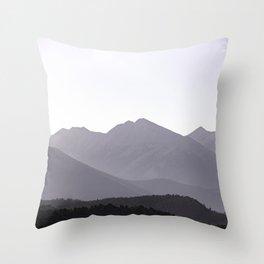 Rocky Mountain Sunset - Colorado Nature Photography Throw Pillow