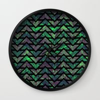 childish gambino Wall Clocks featuring Childish Games by Tamika Hynes