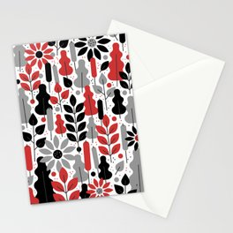 tropical tangle Stationery Cards
