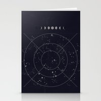 constellations Stationery Cards featuring Constellations by Seana Seeto