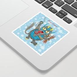 Merry Krampus! Sticker