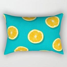 Oranges - Fruit Pattern Rectangular Pillow