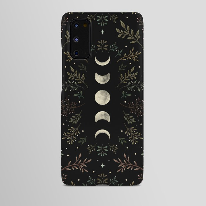 Moonlight Garden - Olive Green Android Case